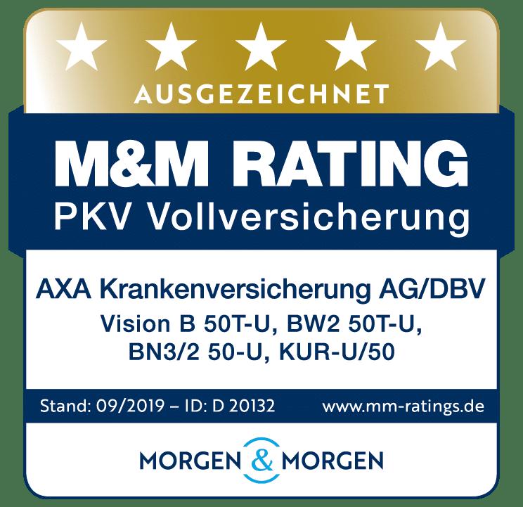 DBV PKV-Vollversicherung_Vision-B 09-2019 5 Sterne