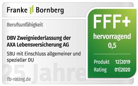 FFF+ Rating Spezielle DU DU Franke Bornberg
