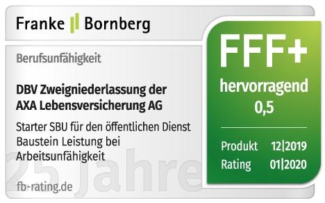 FFF+ Rating Starter BU Franke Bornberg