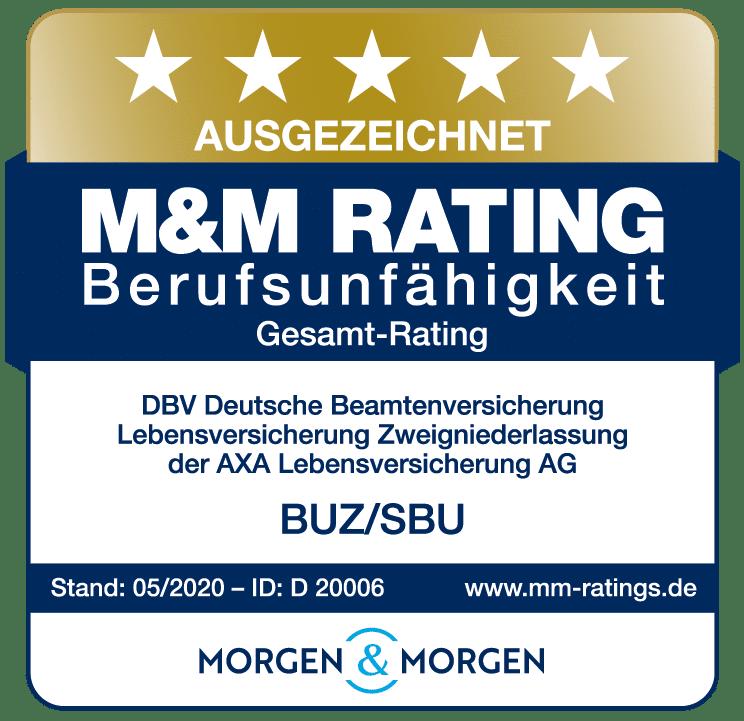 M&M BU-Rating-5Sterne DBV