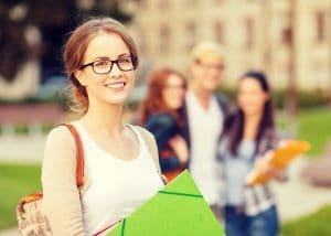 Lehramtsstudenten Campus Studium