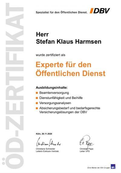 Zertifizierter Experte für den Öffentlichen Dienst